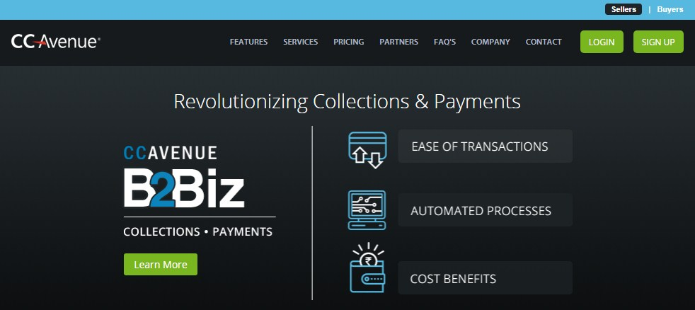 CCAvenue - a leading payment gateway