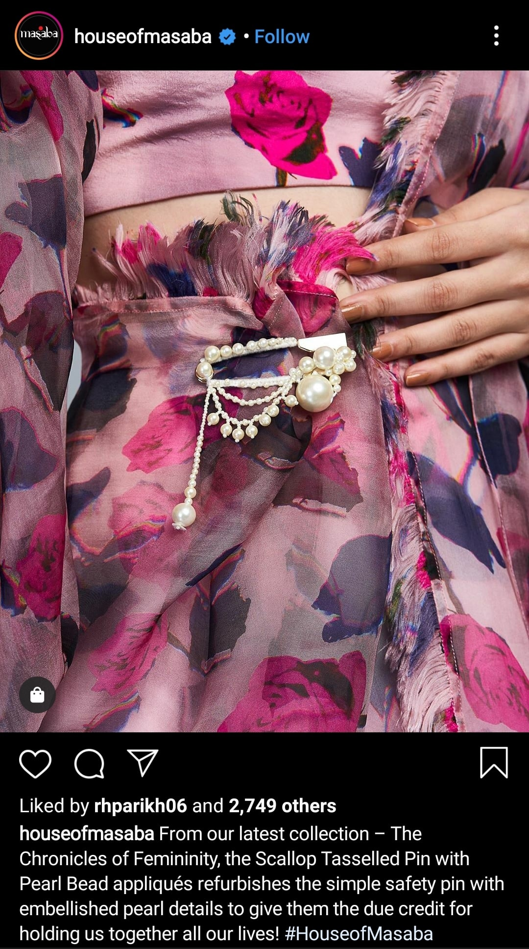 How to sell more on Instagram - Write killer Instagram caption by House of Masaba